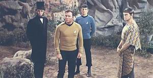 Lincoln, Kirk, Spock a Surak