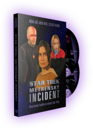 Star Trek: Metrénsky incident - DVD